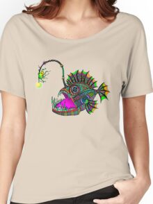 Electric Angler Fish Women's Relaxed Fit T-Shirt