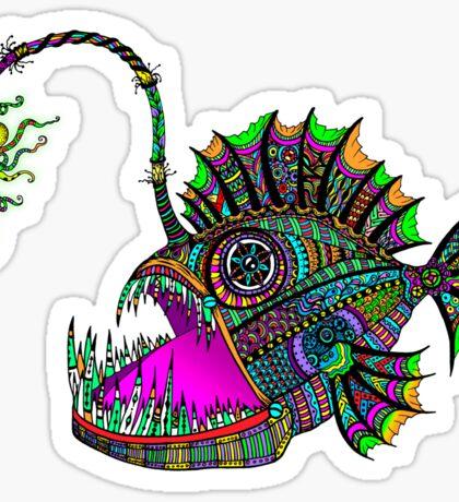 Electric Angler Fish Sticker