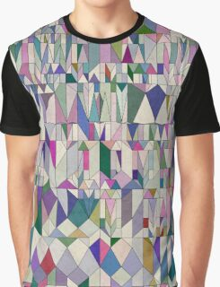Architecture in Pink Graphic T-Shirt