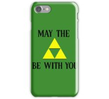 Zelda May The Force Be With You iPhone Case/Skin