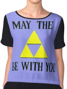 Zelda May The Force Be With You Chiffon Top