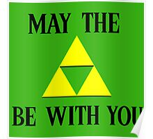 Zelda May The Force Be With You Poster