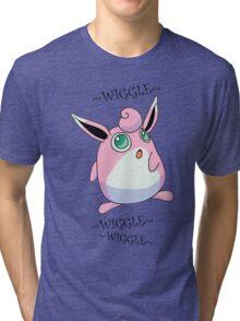 WIGGLYTUFF - WIGGLEWIGGLEWIGGLE Tri-blend T-Shirt
