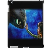 Hiccup And Toothless The Black Night Fury Dragon iPad Case/Skin