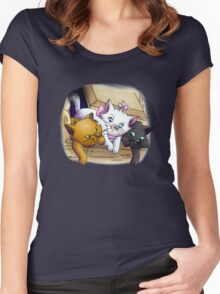 Baby Kitties Women's Fitted Scoop T-Shirt