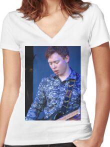 Ben Gittins, The Carnabys Women's Fitted V-Neck T-Shirt