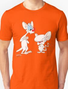 Best Friend Pinky And Brain Unisex T-Shirt