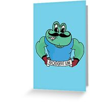 Froggers Gym Greeting Card
