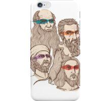 Leonardo, Michelangelo, Donatello, and Raphael... Oh and Splinter iPhone Case/Skin