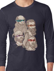 Leonardo, Michelangelo, Donatello, and Raphael... Oh and Splinter Long Sleeve T-Shirt
