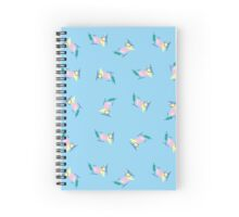 Abstract 50's Diner Pattern Spiral Notebook