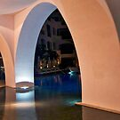 Night Arches by phil decocco