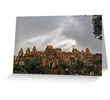 Siem Reap, Cambodia Greeting Card