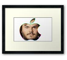 Mac Black Framed Print