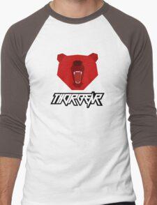 Thorbear logo with text Men's Baseball ¾ T-Shirt