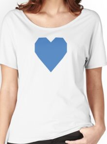 Tufts Blue  Women's Relaxed Fit T-Shirt
