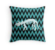 Triceratops prorsus Throw Pillow