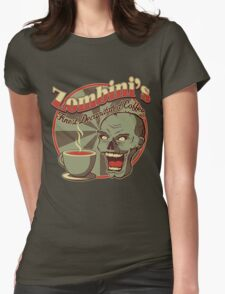Decapitated Coffee Womens Fitted T-Shirt