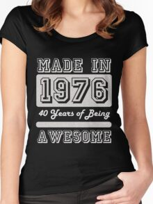 Made in 1976 Women's Fitted Scoop T-Shirt