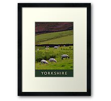Yorkshire Framed Print