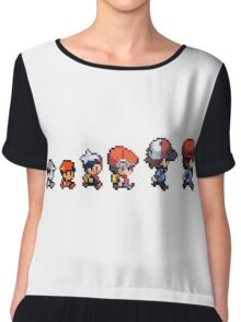 Pokemon evolution Chiffon Top