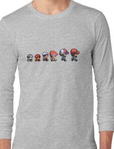 Pokemon evolution Long Sleeve T-Shirt