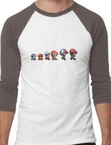Pokemon evolution Men's Baseball ¾ T-Shirt
