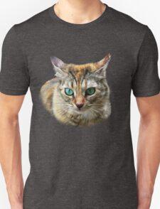 Cat with Turquoise Eyes Unisex T-Shirt