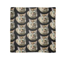 Cat with Turquoise Eyes Scarf