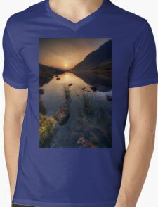 The Morning Light Mens V-Neck T-Shirt