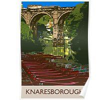 Knaresborough, river Poster