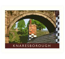 Knaresborough detail Art Print