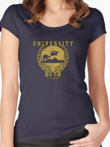 Hoth University Alumni Women's Fitted Scoop T-Shirt