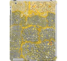 I don't know gold yellow white black and orange honeycomb pattern iPad Case/Skin