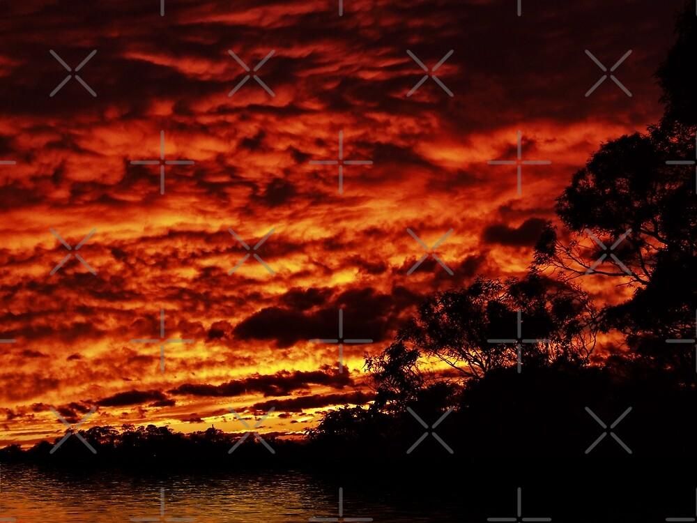 Raging Sunset Views by webgrrl
