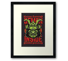 Demon Inside Framed Print