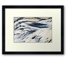 Wishes washed away... Framed Print