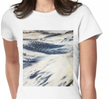 Wishes washed away... Womens Fitted T-Shirt