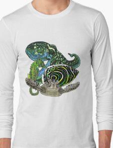 Marine life Long Sleeve T-Shirt