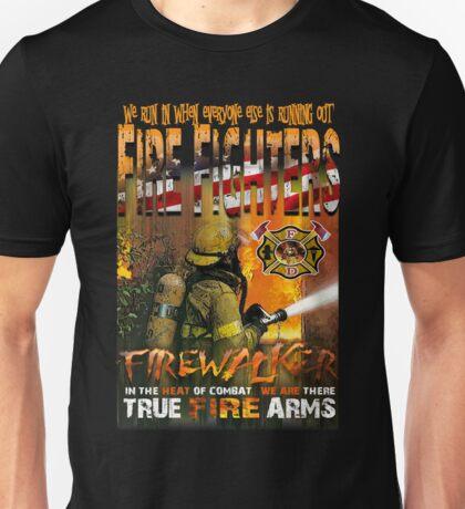 american fire firghter Unisex T-Shirt