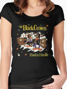 The Black Crowes Classic Women's Fitted Scoop T-Shirt