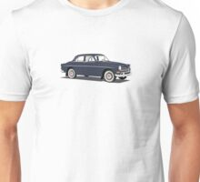 Volvo Amazon blue on orange Unisex T-Shirt