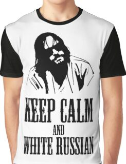 The Dude Abides The Big Lebowski Graphic T-Shirt
