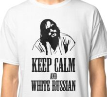 The Dude Abides The Big Lebowski Classic T-Shirt