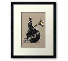 Music Man (color option) Framed Print