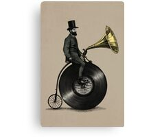 Music Man (color option) Canvas Print