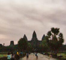 Angkor Wat : Cambodia Sticker