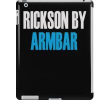Rickson By Armbar (Brazilian Jiu Jitsu) iPad Case/Skin