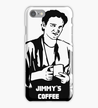 Jimmy's Coffee Pulp Fiction iPhone Case/Skin