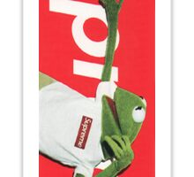 Supreme Kermit (Red) Sticker